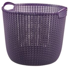 Curver Knit Round L Violet