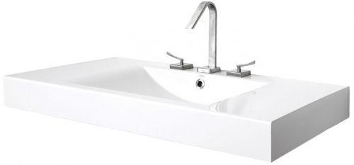 Paa Long Step 1000x490mm Washbasin White