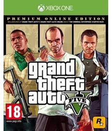 Grand Theft Auto V Premium Online Edition Xbox One