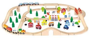 Viga Train Set 90pcs 50998