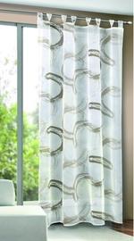 Дневной занавес Verners Circles, коричневый/серый, 1350 мм x 2450 мм