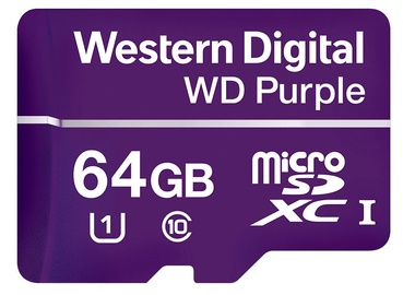 Western Digital Purple Micro SDHC 64GB