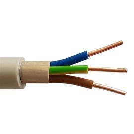 Elektros instaliacijos kabelis Lietkabelis KH05VV-U/NYM, 3 x 1,5 mm²