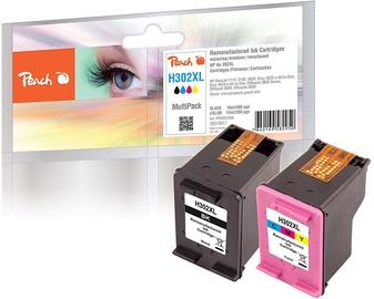 Кассета для принтера Peach, черный/желтый/голубой/фуксия (magenta)