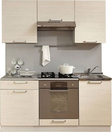 MN Kitchen Unit Simpl 1.7m Shimo Light