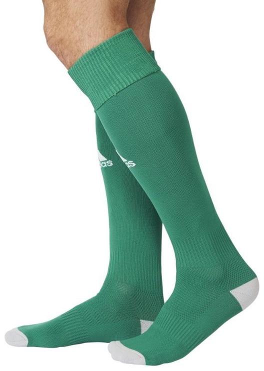 Носки Adidas, белый/зеленый, 43