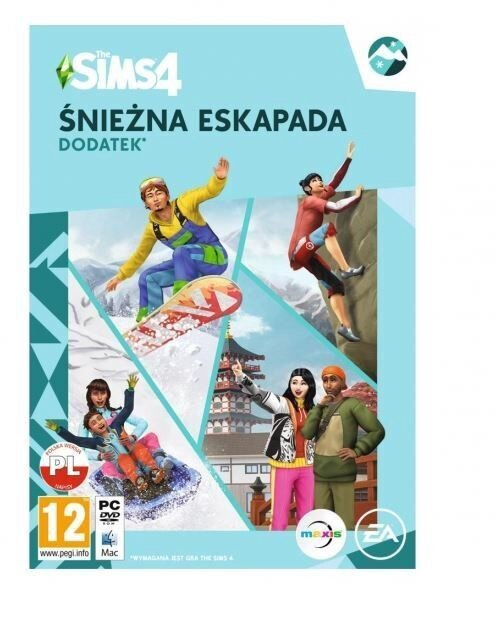Компьютерная игра Sims 4: Snowy Escapade PC