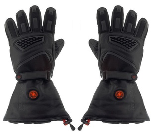 Glovii Heated Leather Motorcycle Gloves L