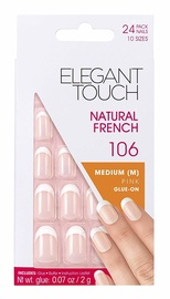 Elegant Touch Natural French 106 Medium Pink