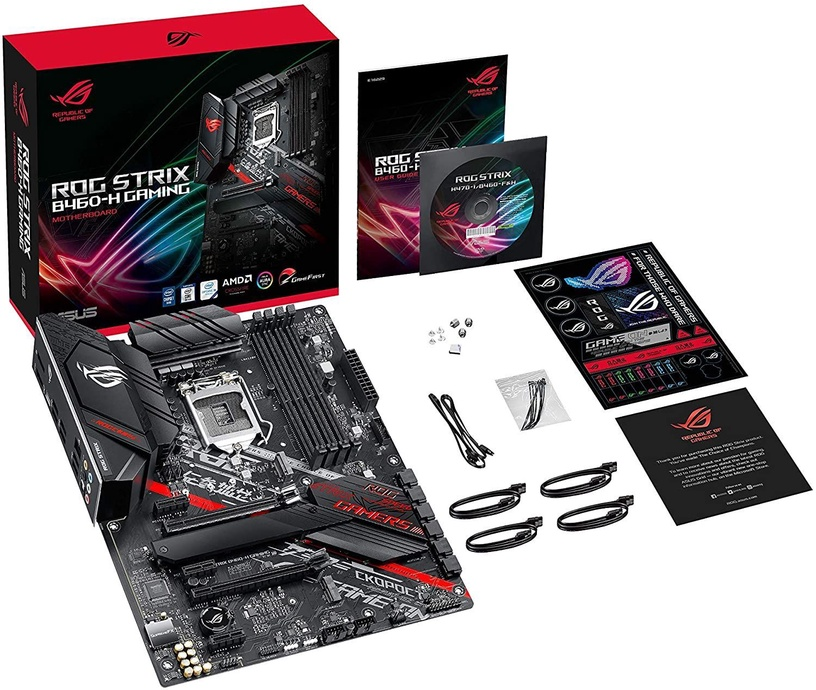 Mātesplate Asus ROG Strix B460-H Gaming