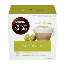 Kavos kapsulės Nescafe Dolce Gusto Cappuccino, 186 g., 16 vnt.