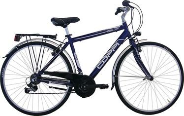Coppi City Bike Man 28'' Blue/White