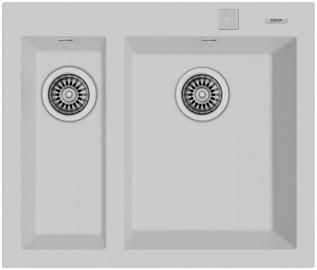 Teka Forsquare Sink Inset 2B 590 TG White