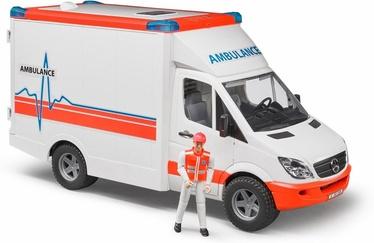 Žaislinė greitosios pagalbos mašinėlė Bruder Benz Sprinter 02536