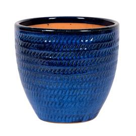 Keraamiline õuepott NDT Corsica, sinine, 31 x 30, 5 cm