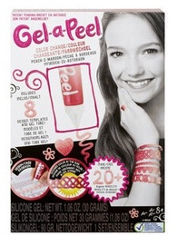 Gel-A-Peel Starter Kit Color Change Peach To Maroon