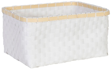 Home4you Basket Lido 2 31x22xH15cm White