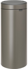 Brabantia 115363 Touch Bin 30L Platinum
