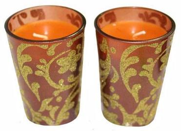 Hadicke Amaretto Candle 8.5cm 2pcs