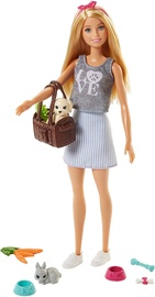 Mattel Barbie Picnic Doll And Animals FPR48