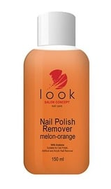 Look Nail Polish Remover with Acetone 150ml Melon-Orange