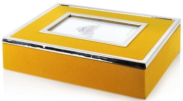 Mondex Carmen Casket Yellow With Frame 24x19x6cm