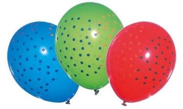 Susy Card Confetti Balloons 6pcs