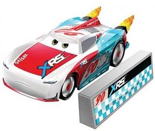 Mattel Disney Cars XRS Rocket Racing Paul Conrev With Blast Wall GKB94
