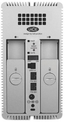 LaCie 8TB 2big Quadra 3.5""