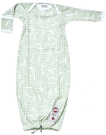 Vaikiškas miegmaišis Lodger Hopper Newborn Longsleeve 50/62 Leaf