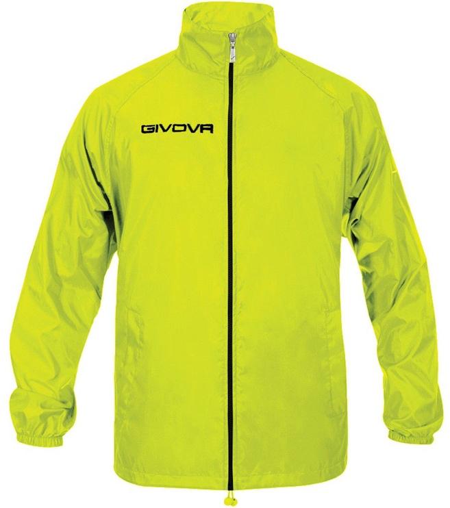 Куртка Givova Basico Rain Jacket Yellow Fluo S