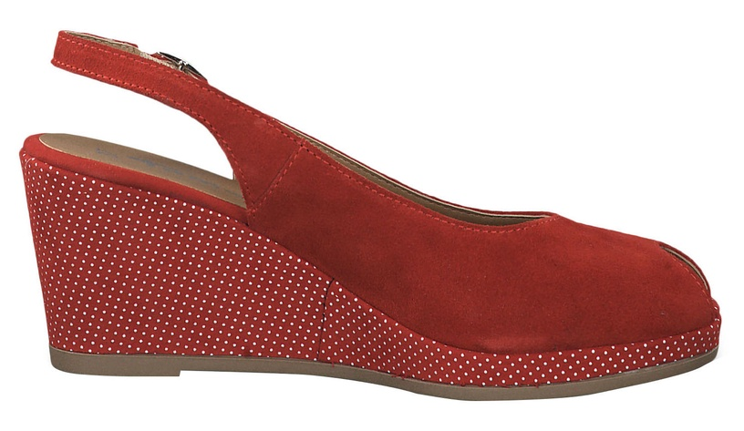 Tamaris Pagiolo Healed Sandals 1-1-29303-22 Lipstick Dots 38