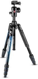 Manfrotto Befree Advanced Aluminum Travel Tripod Blue MKBFRTA4BL-BH