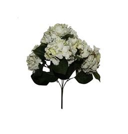 Kunstlik lillekimp Hortensia, valge