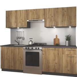 Halmar Daria 240 Kitchen Set Oak/Antracite