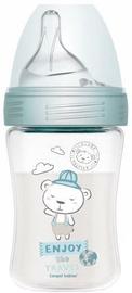 Canpol Babies PP Haberman Anti Colic Bottle Bear 260ml Blue