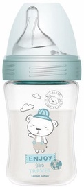 Canpol Babies PP Haberman Anti Colic Bottle Bear 260ml Blue