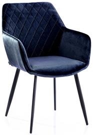 Homede Vialli Chairs 2pcs Navy Blue