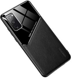 Чехол Mocco Lens Leather Back Case Apple iPhone 12 Pro, черный