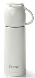 Fissman Angel Double Wall Vacuum Bottle 350ml White