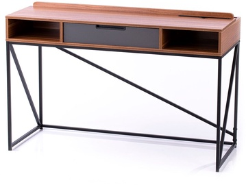 Homede Odel Desk Walnut/Black