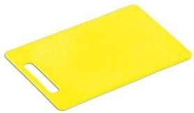 Kesper Plastic Chopping Board 24 15 Yellow