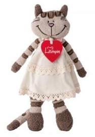 Lumpin Soft Toy Angelique Cat 30.5cm