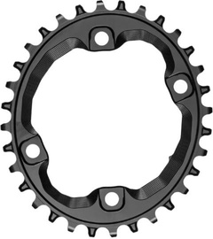 AbsoluteBlack Oval XT M8000/MT700 N/W For SH 12 Chain 34T Black