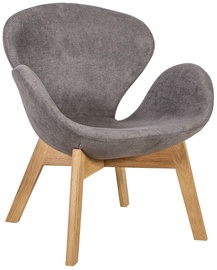 Home4you Chair Swan Grey/Oak