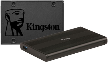 "Kingston A400 480GB SATAIII 2.5"" + iTec MySafe Advance MYSAFEU31"