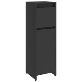 Шкаф для ванной VLX 802662, серый, 30 x 30 см x 95 см