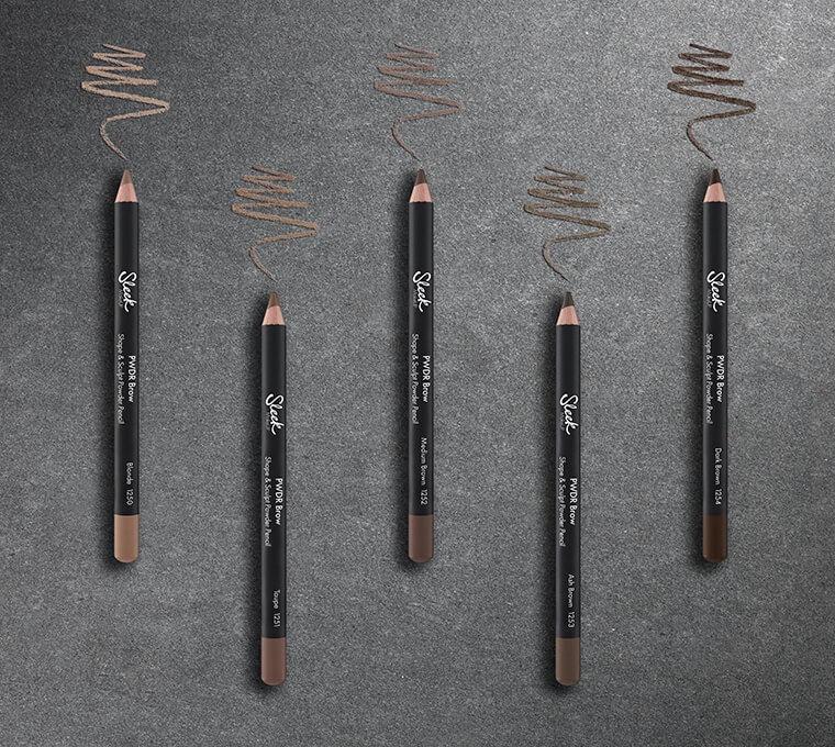 Sleek MakeUP Powder Brow Pencil 1.29g Ash Brown