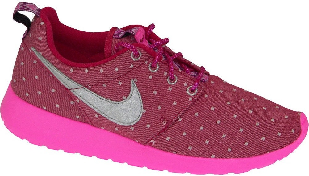 buy popular 192ae 1c349 Nike Running Shoes Roshe One Print Gs 677784-606 Pink 38