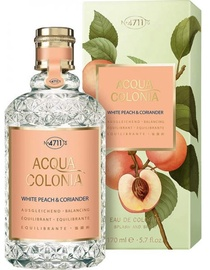4711 Acqua Colonia White Peach & Coriander Splash & Spray 170ml EDC Unisex